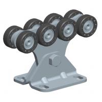 SGN.02.140 Опора роликовая (полимерные ролики). Для ворот до 500 кг. Light