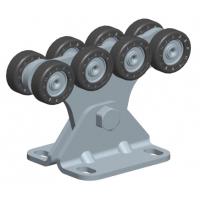 SGN.01.100 Опора роликовая (полимерные ролики). Для ворот до 300 кг. Light